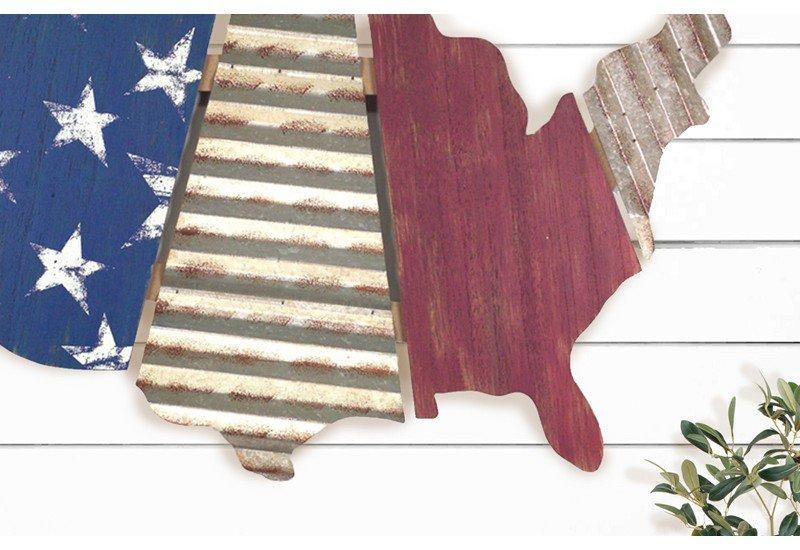 Travel Wall Decor Adventure Map Wooden Us Map Wood Wall Art (Image 10 of 20)