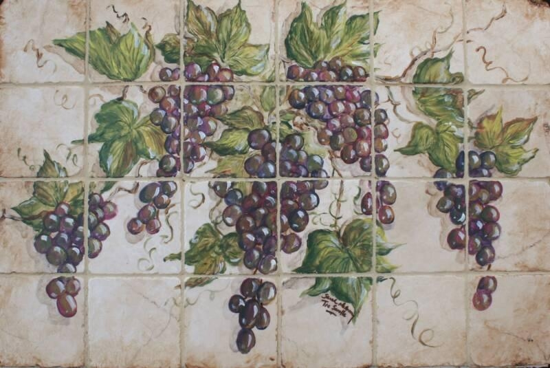 Tre Sorelle's Art Licensing Program With Regard To Grape Wall Art (Image 18 of 20)