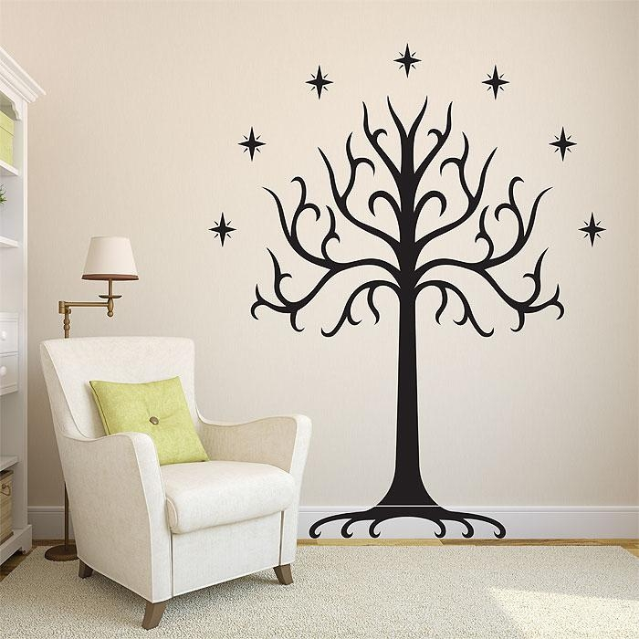 Tree Of Gondor Vinyl Wall Art Decal Pertaining To Vinyl Wall Art Tree (View 7 of 20)