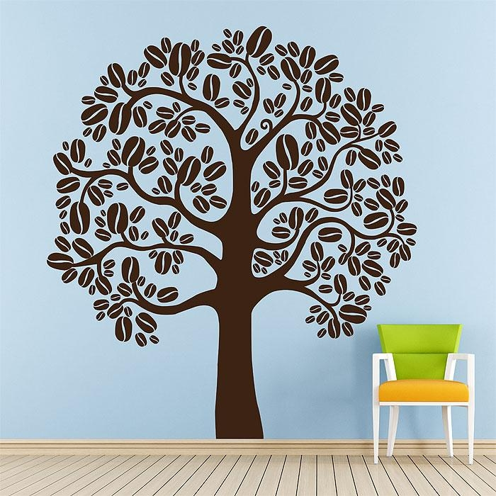 Tree Vinyl Wall Art Decal Within Vinyl Wall Art Tree (View 17 of 20)