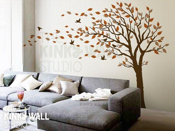 Tree Wall Art Decals Vinyl Sticker | Wallartideas With Regard To Vinyl Wall Art Tree (View 19 of 20)