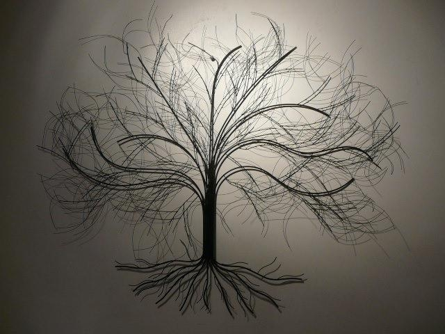 Tree Wall Art Uk | Wallartideas Within Oak Tree Metal Wall Art (Image 18 of 20)