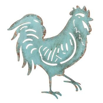 Turquoise Rooster Metal Wall Decor | Hobby Lobby | 1302694 Pertaining To Metal Rooster Wall Decor (Image 15 of 20)