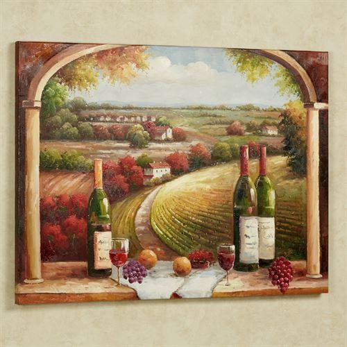 Tuscan Charm Canvas Wall Art For Tuscany Wall Art (Image 10 of 20)