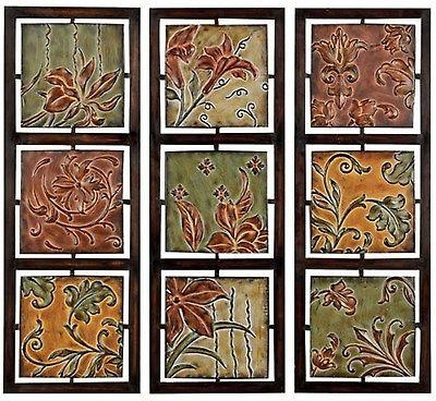 Tuscan Fleur De Lis Hanging Metal Wall Art Panels (Set Of 3 Inside Metal Fleur De Lis Wall Art (View 13 of 20)