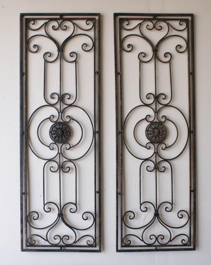 Tuscan Wrought Iron Wall Decor: Beautiful Pictures, Photos Of Inside Tuscan Wrought Iron Wall Art (Image 18 of 20)