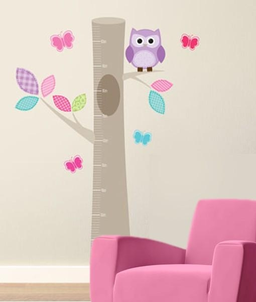 Twiggy Wall Art Vinyl – Owl Growth Chart For Twiggy Vinyl Wall Art (View 4 of 20)