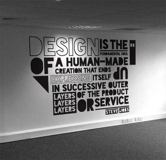 Typography Wall Art – Wallpaper (Image 14 of 20)