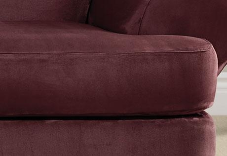 Ultimate Heavyweight Stretch Suede Individual 2 Piece T Cushion Within Suede Slipcovers For Sofas (Image 19 of 20)