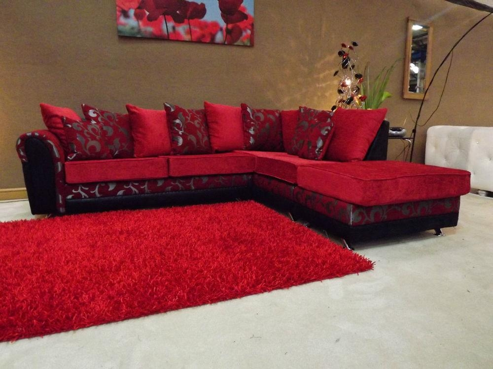 Unique Red And Black Sofa Bed Sheets #2927 | Latest Decoration Ideas In Black And Red Sofas (Image 19 of 20)