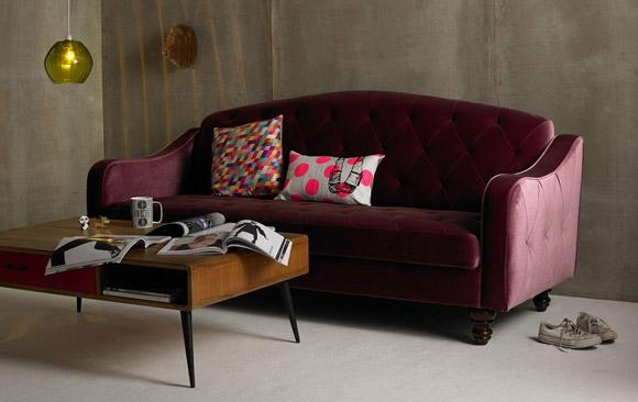 Urban Outfitters Sofa Bed Furniture Luxury Ava Velvet Tufted For Ava Tufted Sleeper Sofas (Image 20 of 20)