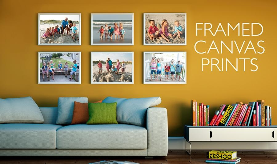 Use Small Framed Canvas Prints For A Big Impact With Regard To Small Canvas Wall Art (View 8 of 20)