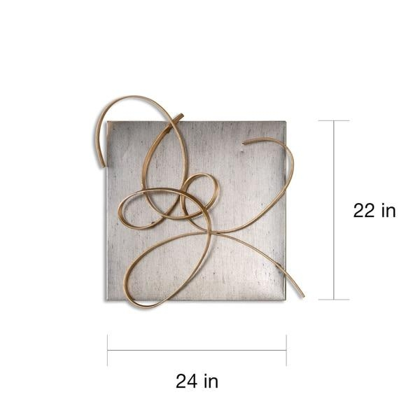Uttermost Harmony Metal Wall Art (Set Of 2) – Free Shipping Today With Regard To Uttermost Metal Wall Art (Image 10 of 20)