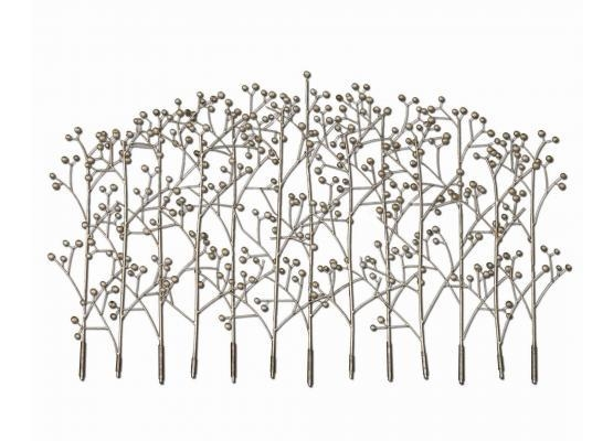 Uttermost Iron Trees Metal Wall Art 05018 Inside Uttermost Metal Wall Art (Photo 15 of 20)