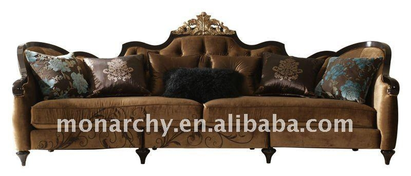 V601 3 Monarchy Wood Carved Furniture Sofa Sets – Buy Sofa Sets Pertaining To Carved Wood Sofas (Image 14 of 20)