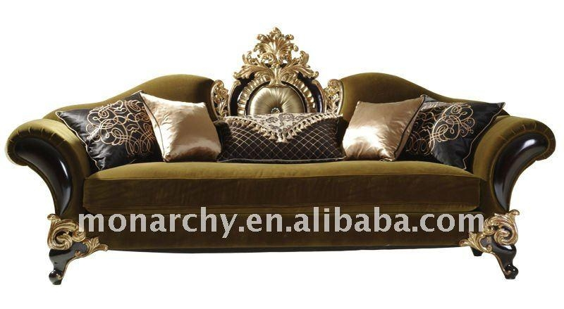 V605 Monarchy Wood Carved Furniture Sofa Set – Buy Sofa Set Regarding Carved Wood Sofas (Image 15 of 20)