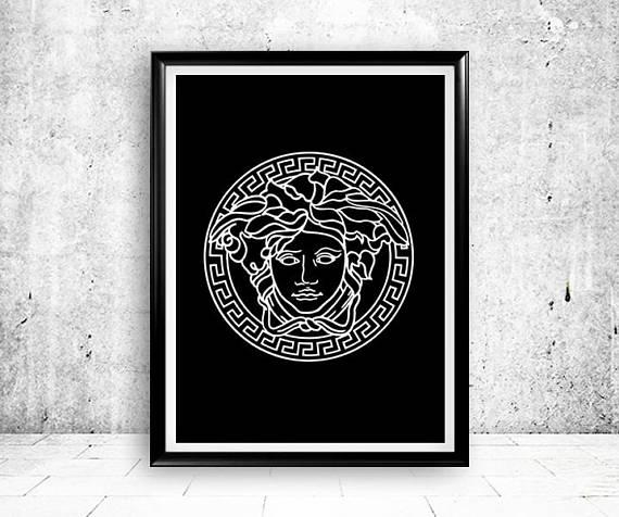 Versace Gianni Versace Versace Medusa Versace Logo Versace Within Versace Wall Art (Photo 4 of 20)