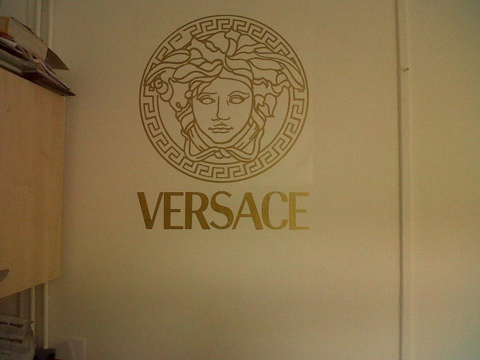 Versace Wall Sticker Within Versace Wall Art (Image 19 of 20)