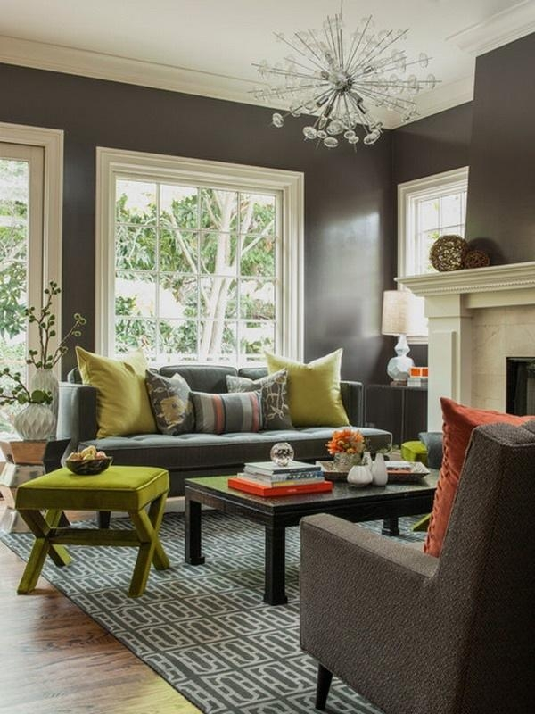 Vibrant Creative 17 Living Room Ideas With Grey Sofa – Home Design With Regard To Living Room With Grey Sofas (View 18 of 20)