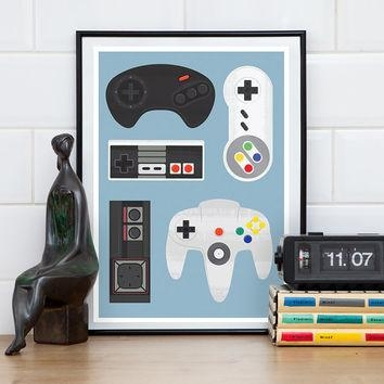 Video Game Wall Art Perfect Canvas Wall Art For Cheap Wall Art With Video Game Wall Art (Image 18 of 20)