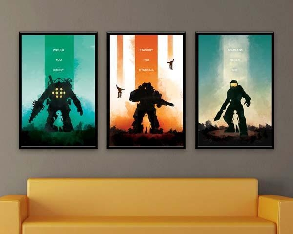 Featured Image of Video Game Wall Art