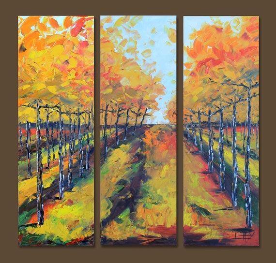 Vineyard Vines Art Vineyard Painting 36 Large Wall Within Vineyard Wall Art (View 3 of 20)