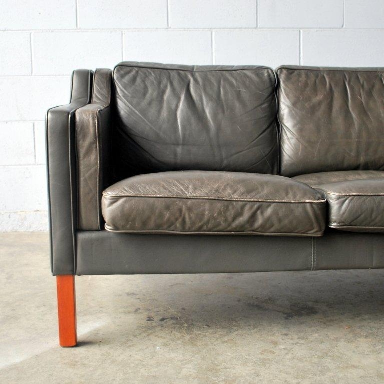 Vintage Danish Leather Sofa At 1Stdibs For Danish Leather Sofas (Photo 2 of 20)