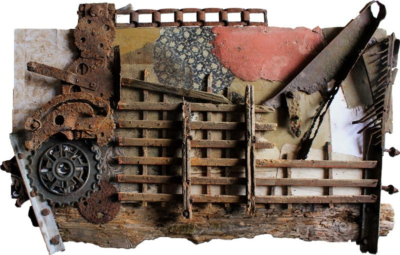 Vintage Industrial Art Gallery: Original One Of A Kind Artwork With Vintage Industrial Wall Art (Image 12 of 20)