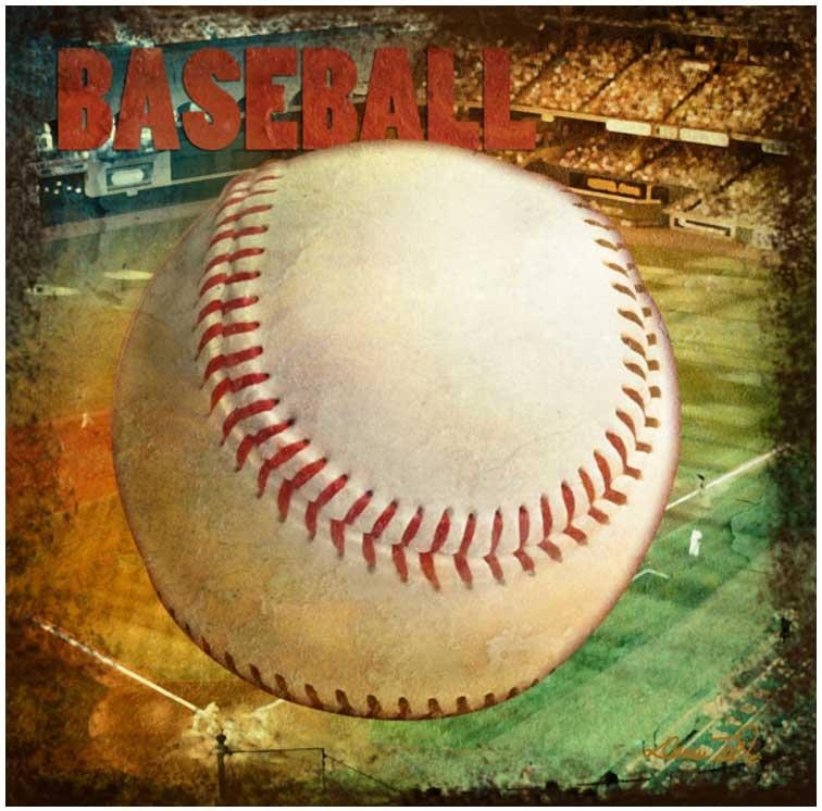 Vintage Wall Art Design That Perfect For Traditional Home Style For Vintage Baseball Wall Art (Image 20 of 20)
