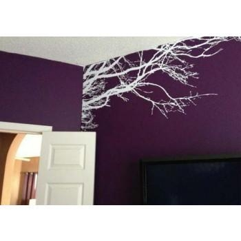 Vinyl Wall Decal Sticker Art Tree Top Branches Home Decor Intended For Tree Branch Wall Art (Photo 11 of 20)