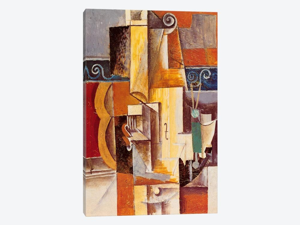 Violin And Guitar Canvas Printpablo Picasso | Icanvas Regarding Guitar Canvas Wall Art (Photo 11 of 20)