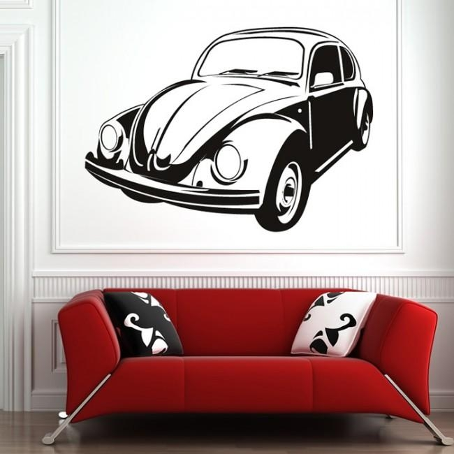 Vw Beetle Wall Art Classic Cars Wall Art With Regard To Classic Car Wall Art (Image 18 of 20)