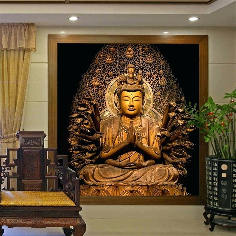 Wall Art ~ 5 Pieces Buddha Canvas Wall Art Wall Art Uk Ebay Wall With Large Buddha Wall Art (View 12 of 20)