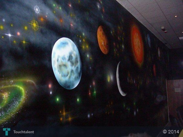 Wall Art Airbrush @ Uae | Touchtalent – For Everything Creative In Airbrush Wall Art (Image 18 of 20)