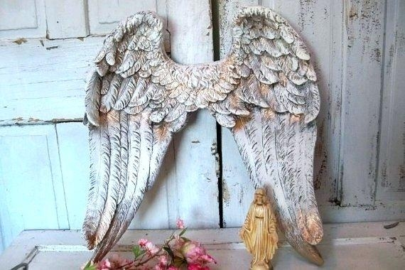 Wall Art ~ Angel Wings Wall Decor For Sale Angel Wings Wall Art Regarding Angel Wings Sculpture Plaque Wall Art (View 12 of 20)