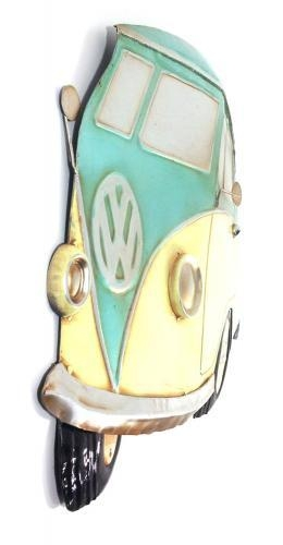 Wall Art – Aqua Vw Campervan Regarding Campervan Metal Wall Art (View 20 of 20)