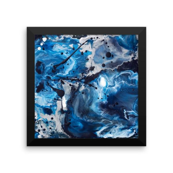 Wall Art Archives • Abigail Markov With Regard To Blue And Silver Wall Art (Image 19 of 20)