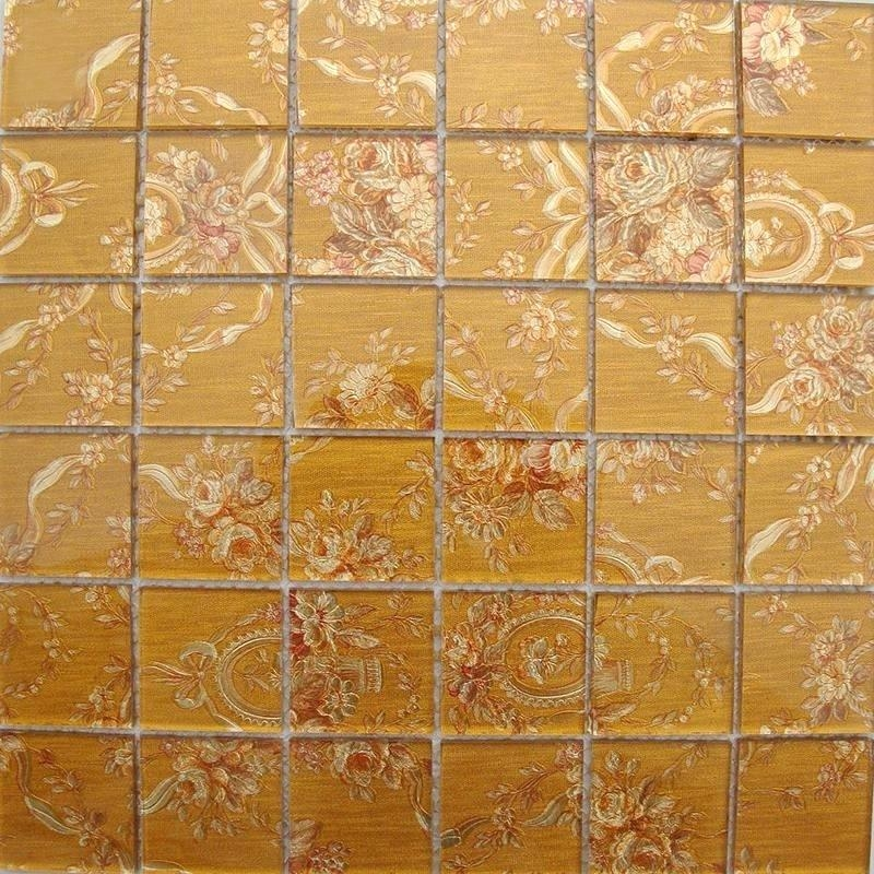 Wall Art ~ Art Glass Mosaic Tiles Mural For Kitchen Hotelliving Throughout Mosaic Wall Art Kits (View 16 of 20)