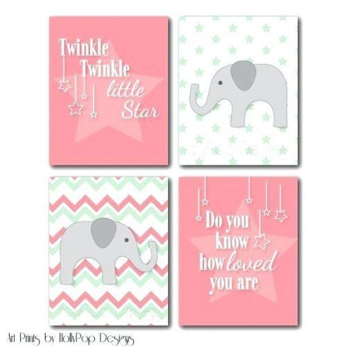 Wall Art ~ Baby Nursery Canvas Wall Art Little Girl Canvas Wall Throughout Little Girl Wall Art (View 7 of 20)