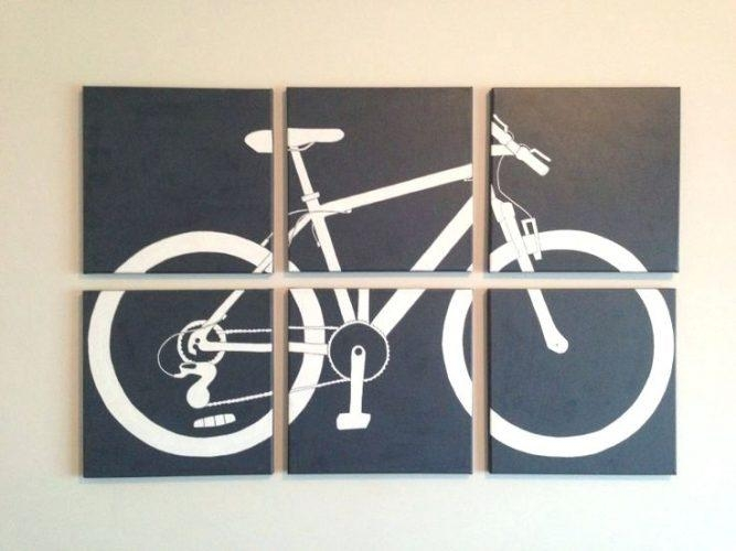 Wall Art ~ Bicycle Wall Art Canada Bicycle Wall Art Target French Within Cycling Wall Art (Image 15 of 20)