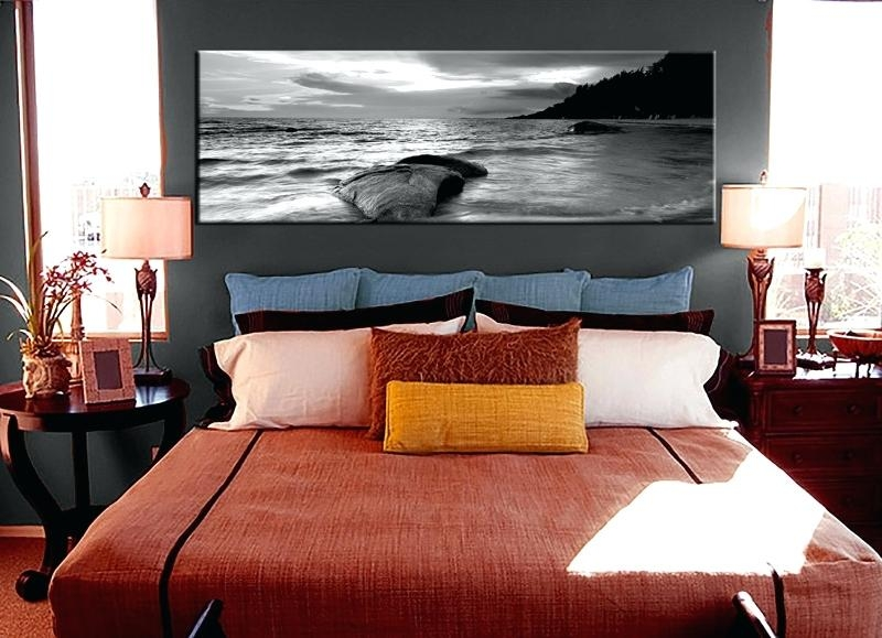 Wall Art ~ Black And White Canvas Art Ikea Black And White Beach With Regard To Walmart Framed Art (Image 9 of 20)
