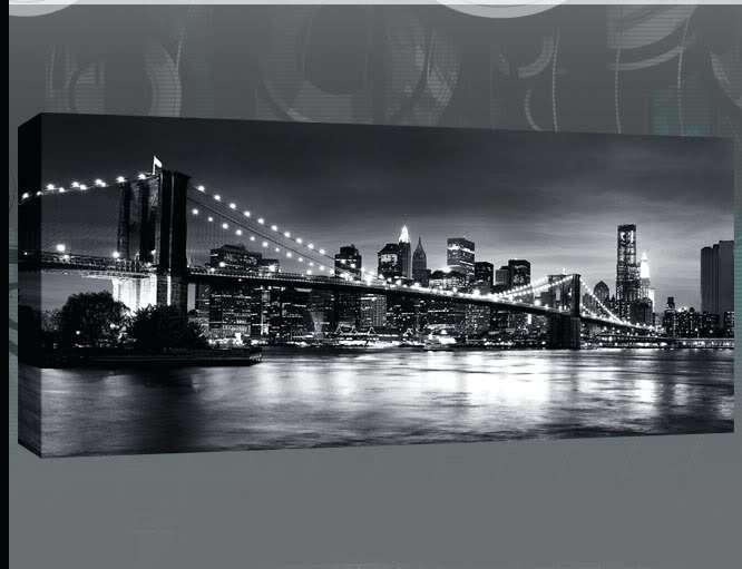 Wall Art ~ Black Metal Wall Art Argos New York Brooklyn Bridge In Brooklyn Bridge Metal Wall Art (Image 12 of 20)