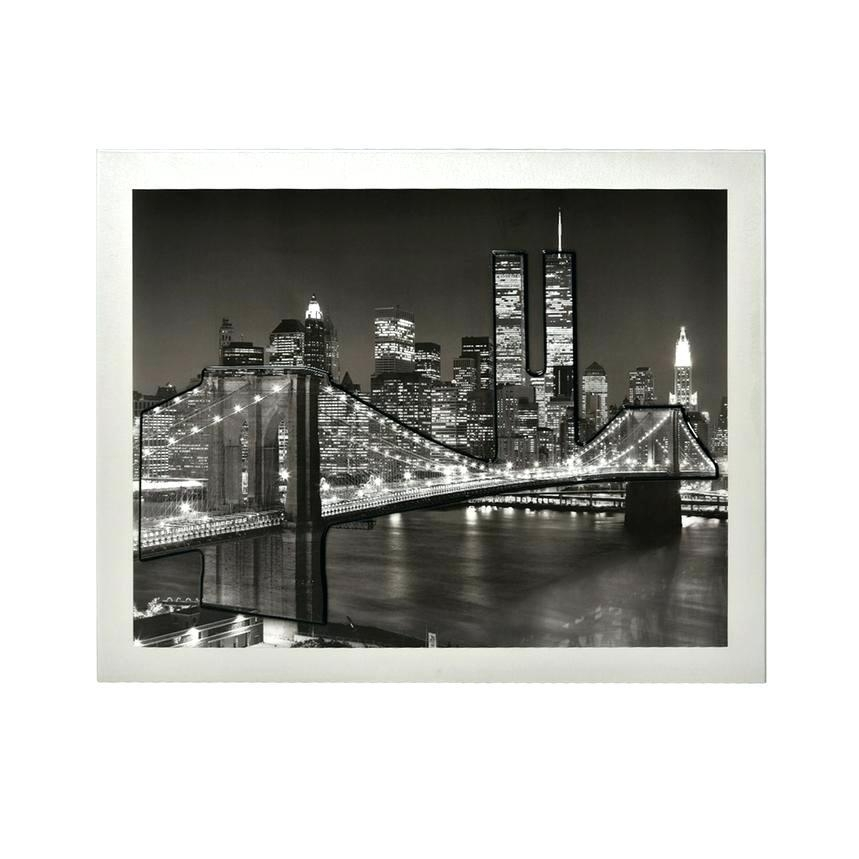 Wall Art ~ Brooklyn Bridge Framed Wall Art New York Brooklyn Pertaining To Brooklyn Bridge Metal Wall Art (Image 14 of 20)