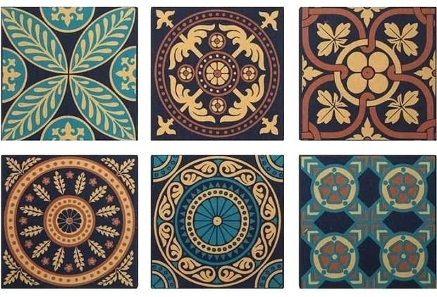Wall Art ~ Ceramic Wall Art Tiles Nz Art Deco Ceramic Wall Tiles For Ceramic Tile Wall Art (Image 18 of 20)