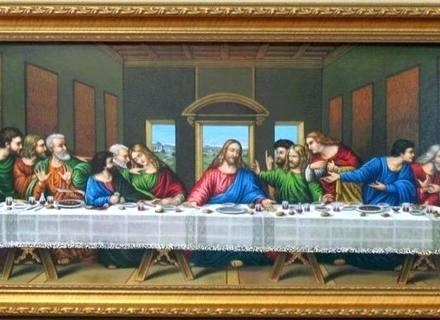 Wall Art ~ Contemporary Last Supper Wall Art Last Supper Wall Art With The Last Supper Wall Art (Image 17 of 20)