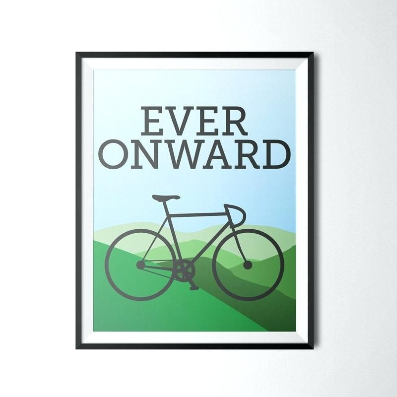 Wall Art ~ Cycling Wall Art Cycling Metal Wall Art Cycling Wall Regarding Cycling Wall Art (Image 17 of 20)