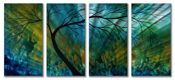 Wall Art Decor: Astonishing Products With Colorful Blue And Green In Blue And Green Wall Art (Image 20 of 20)