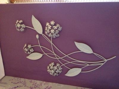 Featured Image of Cream Metal Wall Art