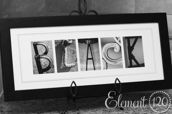 Featured Image of Last Name Framed Wall Art
