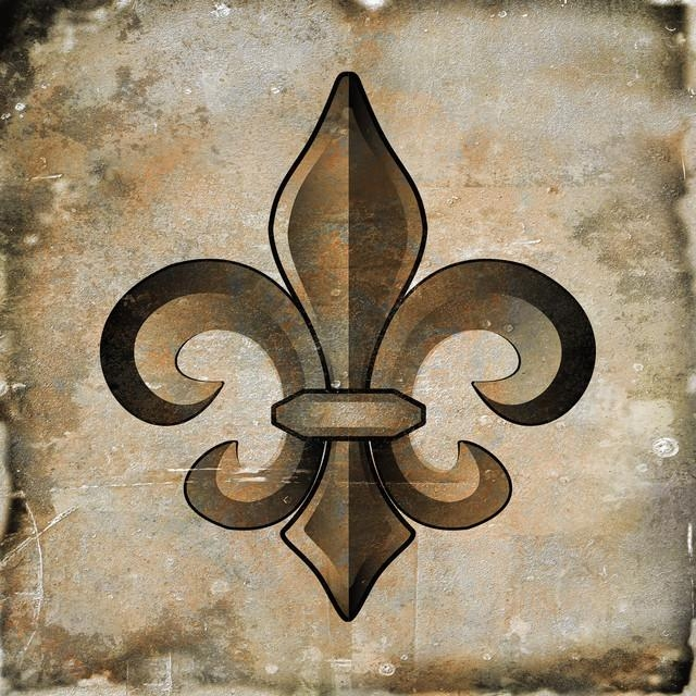 Wall Art Design Ideas: Best Metal Ideas Fleur De Lis Wall Art Inside Metal Fleur De Lis Wall Art (View 5 of 20)